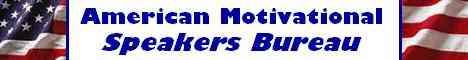 American Motivational Speakers Bureau Banner