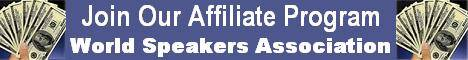 World Speakers Association Affiliate Banner