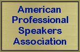 American Professional Speakers Association