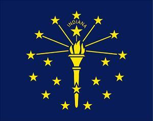 Indiana Speakers Association ~ Indiana Flag