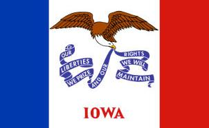 Iowa Speakers Association ~ Iowa Flag