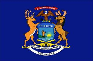 Michigan Speakers Association ~ Michigan Flag